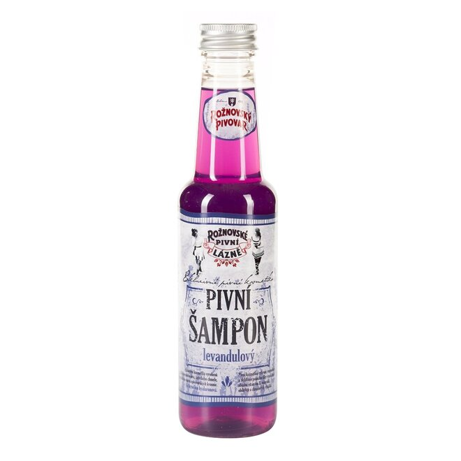 Pivní šampon levandulový, 250 ml