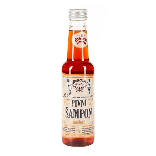 Pivní šampon medový, 250 ml
