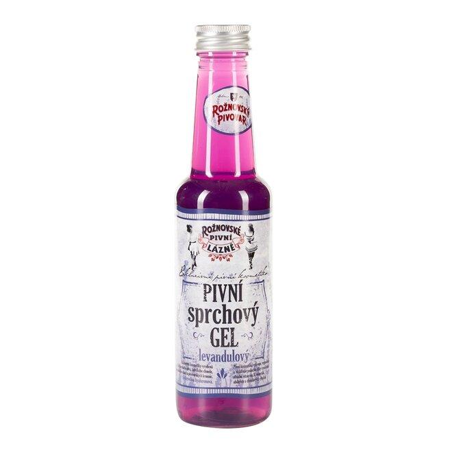 Pivní sprchový gel levandulový, 250 ml