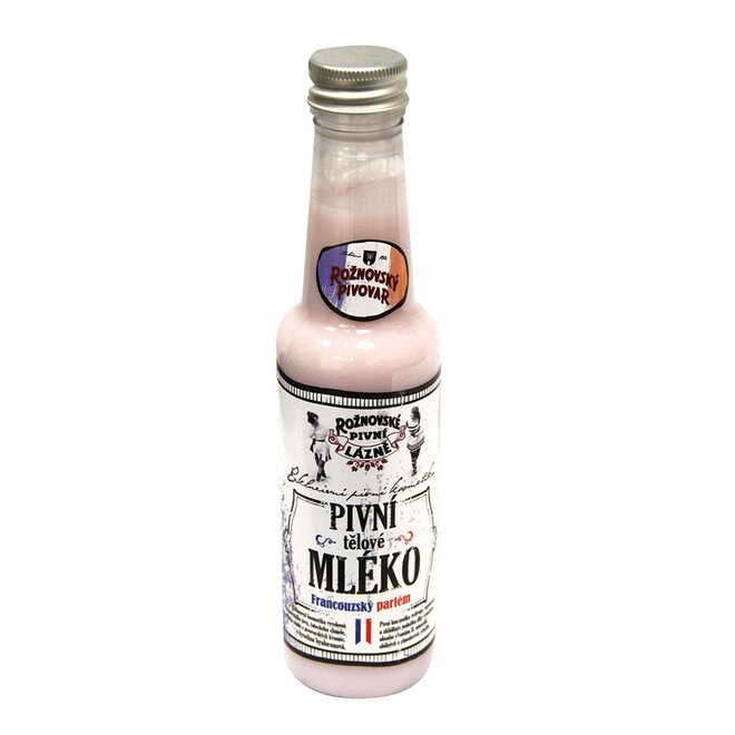 Pivní tělové mléko francouzský parfém, 250 ml