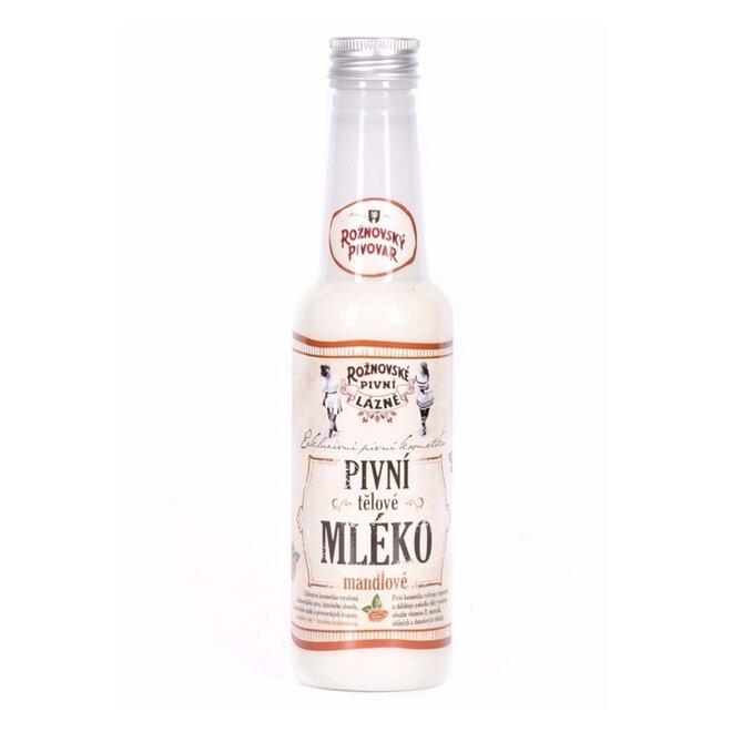 Pivní tělové mléko mandlové, 250 ml