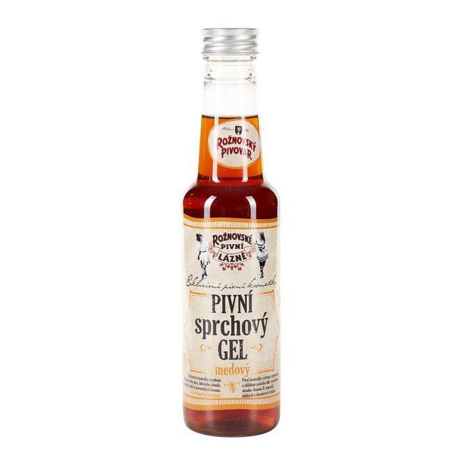 Pivní sprchový gel medový, 250 ml