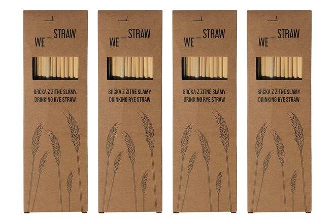 4× 50 ks slámek We-Straw