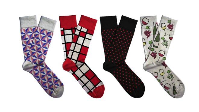 Dárkový set barevných ponožek Soxit - Pro ni