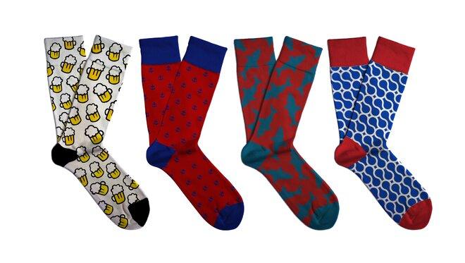 Dárkový set barevných ponožek Soxit - Pro něho
