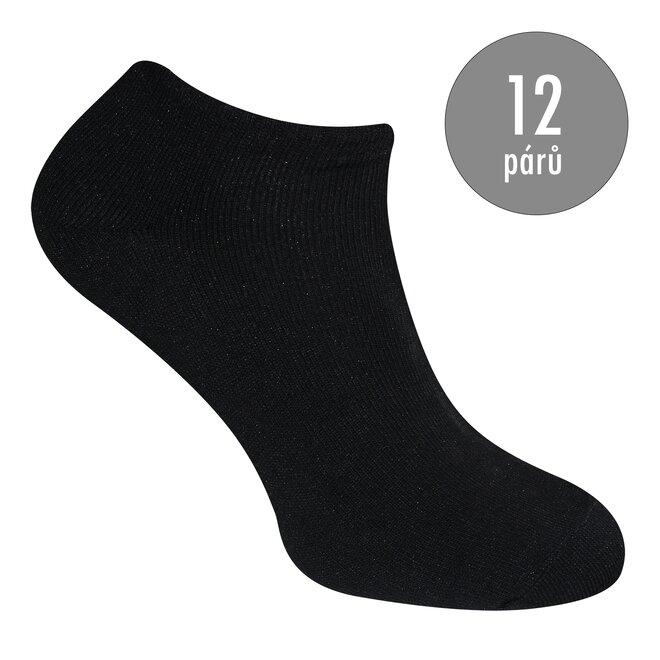 12 párů dámských ponožek