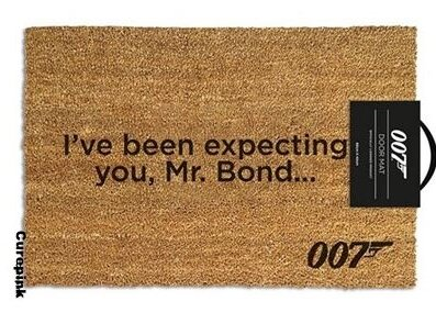 James Bond 007: I've been expecting you