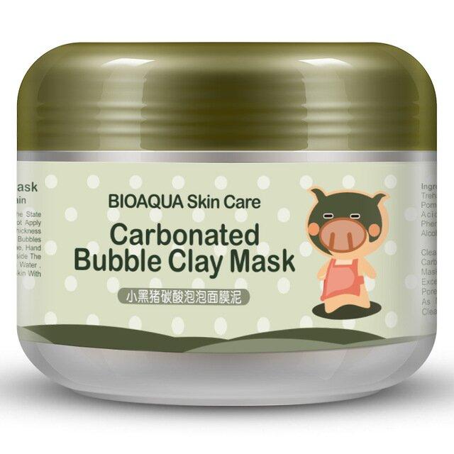Bublinková bahenní maska s aktivním bambusovým uhlím