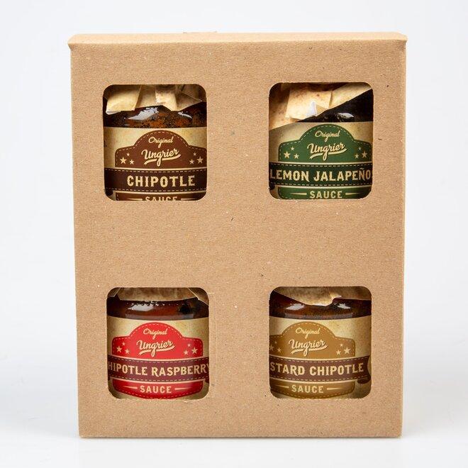 Dárkový box 4 lahodných omáček (à 100 ml)