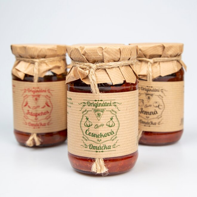 Omáčka česneková, 250 ml