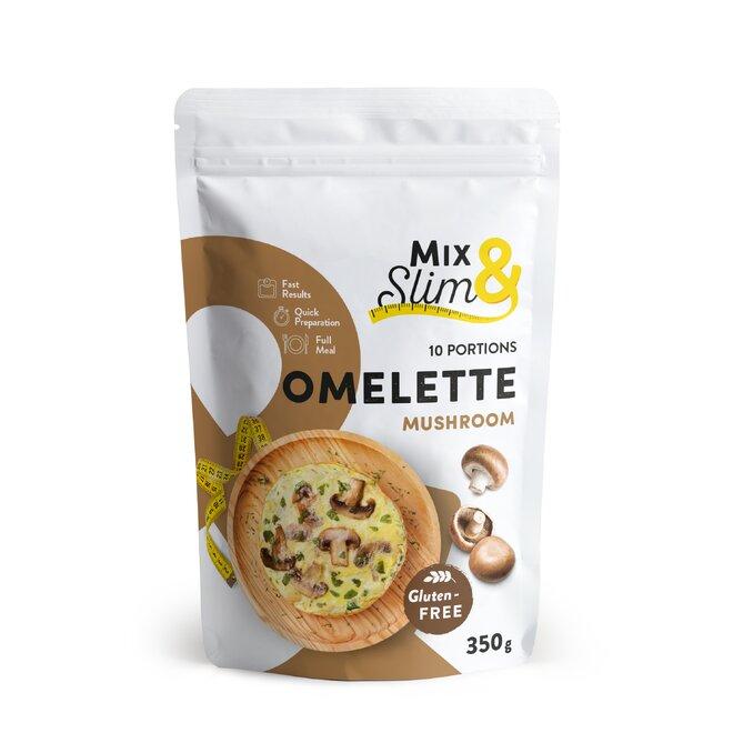 Proteinová dietní omeleta Mix & Slim, žampionová, 10 porcí