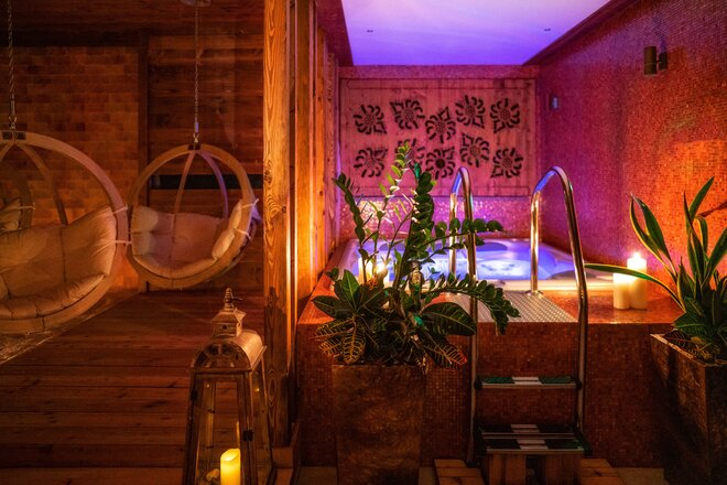 Vip sauna resort