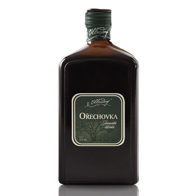 Ořechovka Ullersdorf 35 %, 0,5 l