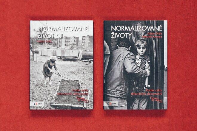 2 knihy Normalizované životy I. a II. díl