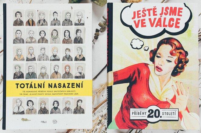 Historie v komiksu: kniha Ještě jsme ve válce a Totální nasazení