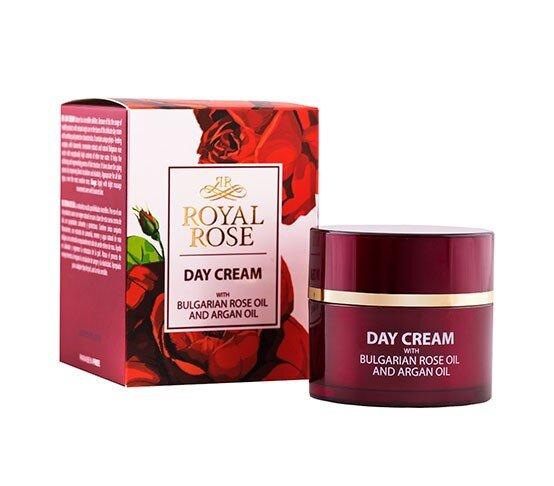 Krém pleťový denní ROYAL ROSE růžový a arganový olej