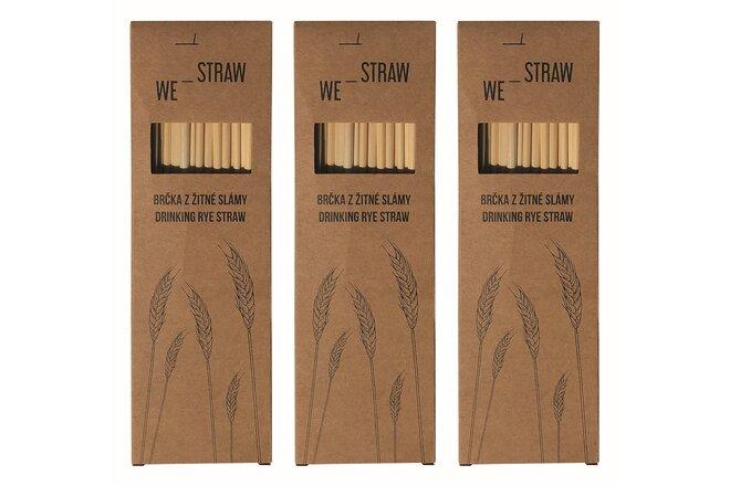 3× 50 ks slámek We-Straw