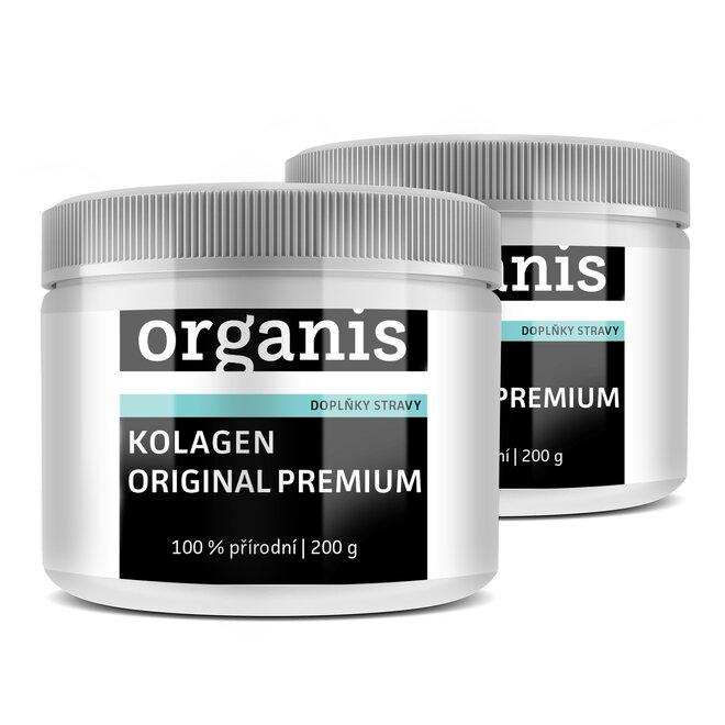 Kolagen Original Premium značky Organis, 2× 200 g