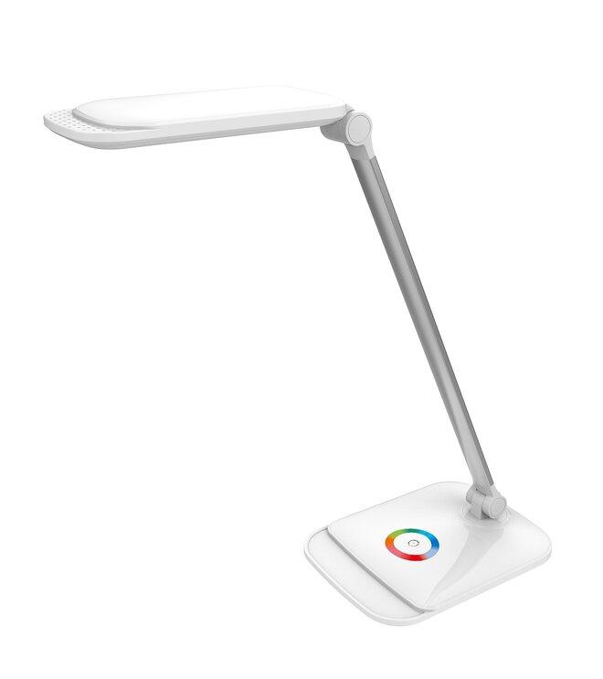 LED stolní lampička PLATINET PDLQ60 s USB, RGB podsvětlení