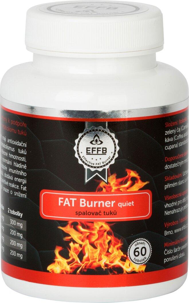 Fat Burner quiet spalovač tuků, 60 tablet
