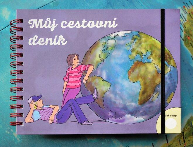 Můj cestovní deník - pro starší děti