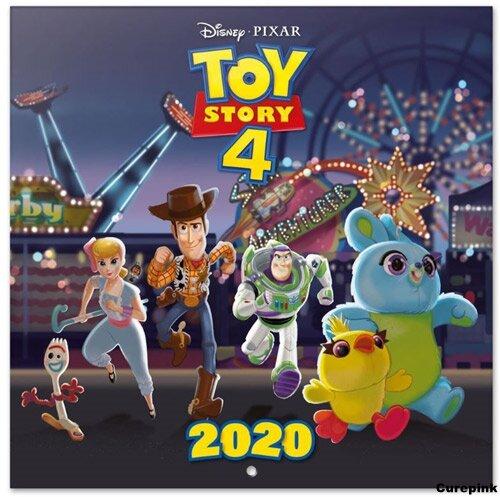 Nástěnný kalendář 2020 - Toy Story 4