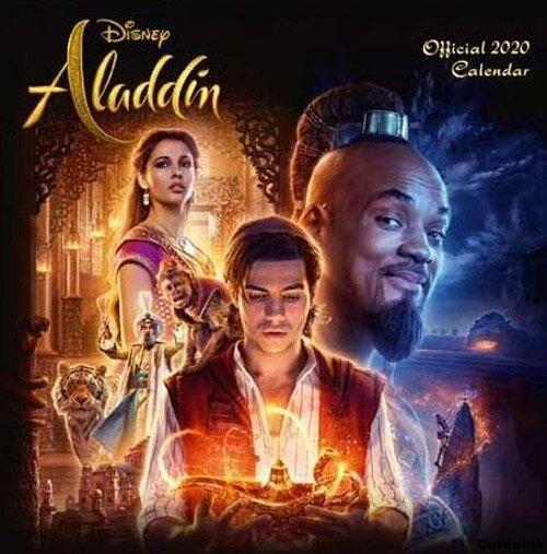 Nástěnný kalendář 2020 - Aladin