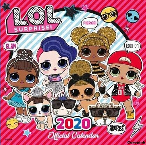 Nástěnný kalendář 2020 - L.O.L. Surprise!