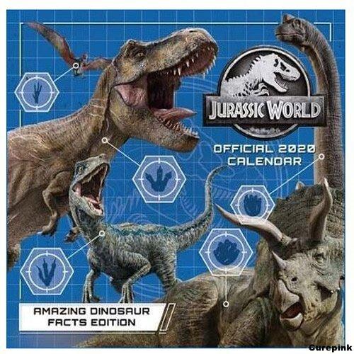 Nástěnný kalendář 2020 - Jurský svět (Jurassic World)