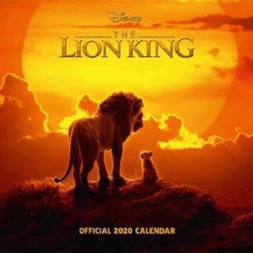 Nástěnný kalendář 2020 - Lví král (Lion King)
