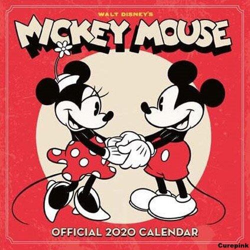 Nástěnný kalendář 2020 - Mickey Mouse