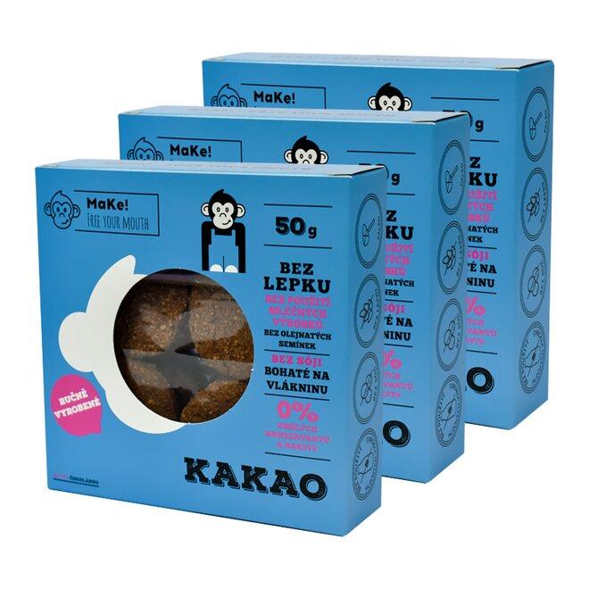3x Kakao, à 50 g