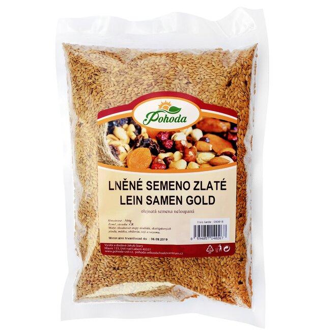 Lněné semínko zlaté, 500 g
