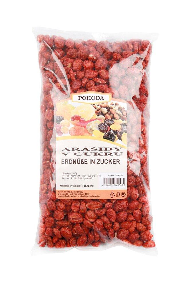 Arašídy v cukru, 500 g