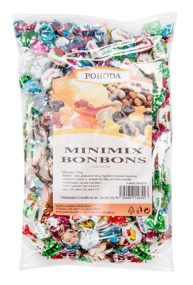 Minibonbony – mix všech variant, 500 g
