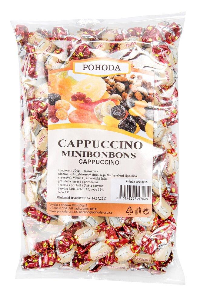 Minibonbony cappuccino, 500 g