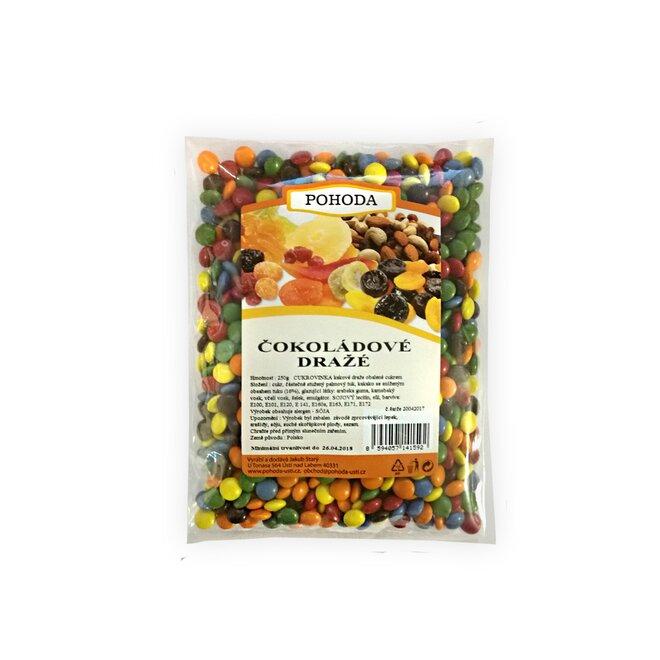 Čokoládové dražé, 250 g