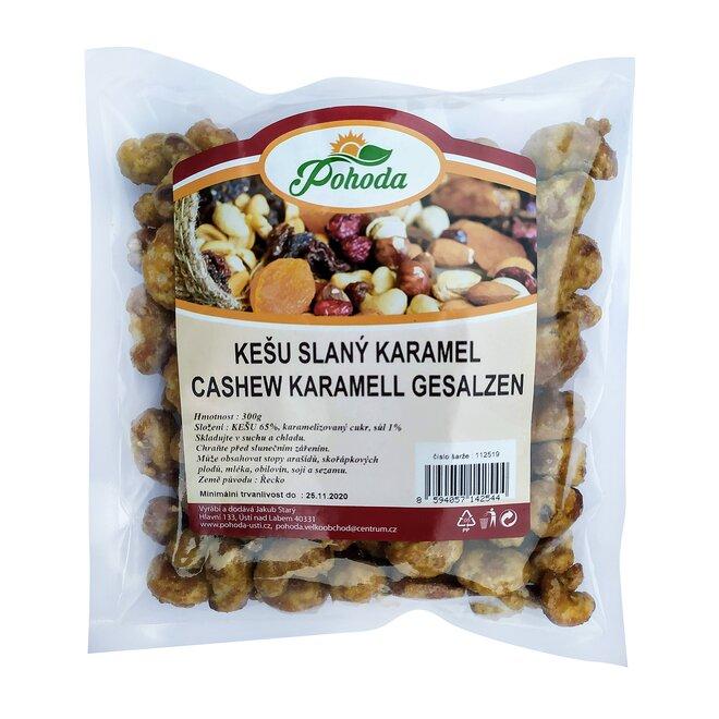 Kešu slaný karamel, 300 g