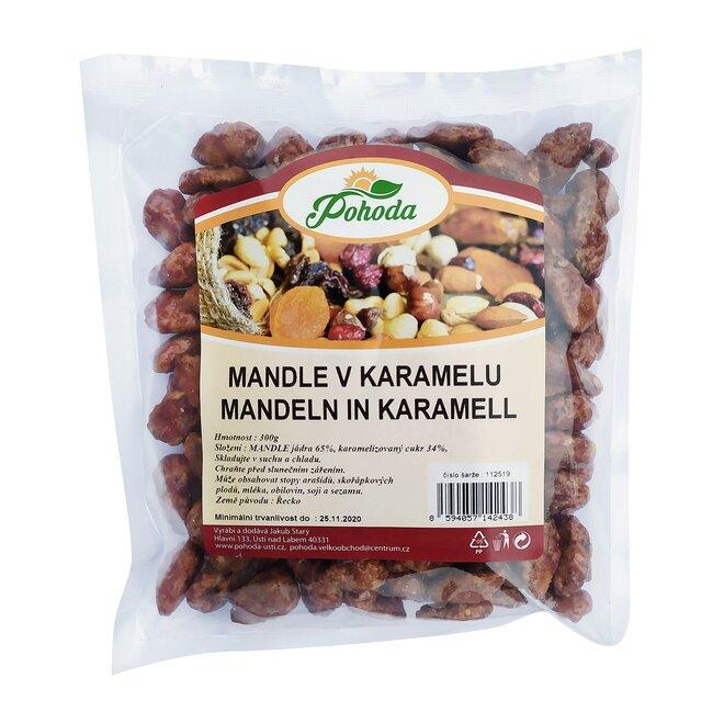Mandle v karamelu, 300 g