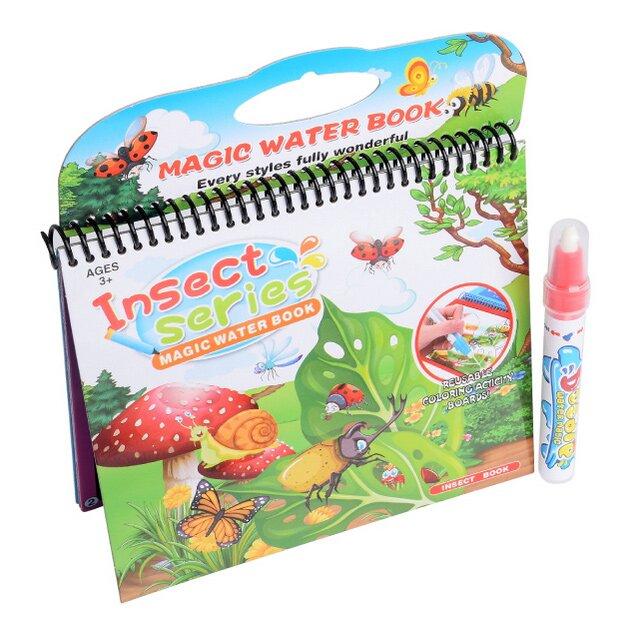 Vodní omalovánky – Hmyz