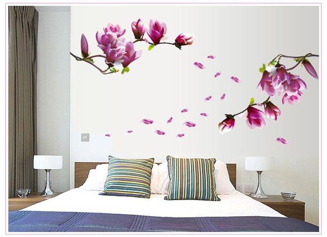 3D švestkové květy
