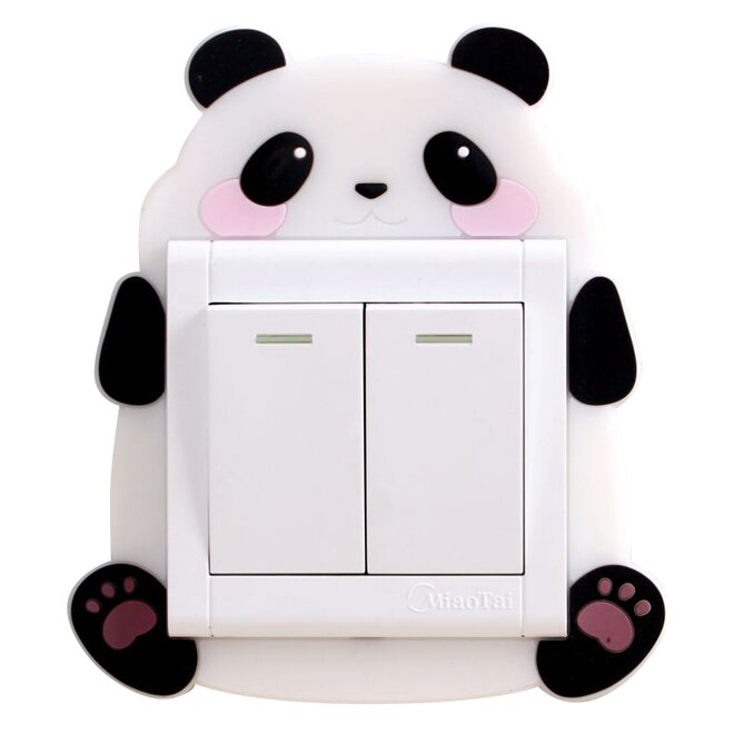 Ozdoba na vypínač – panda
