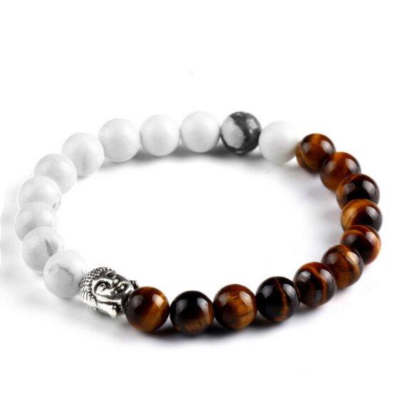 Buddha - howlit/tygří oko