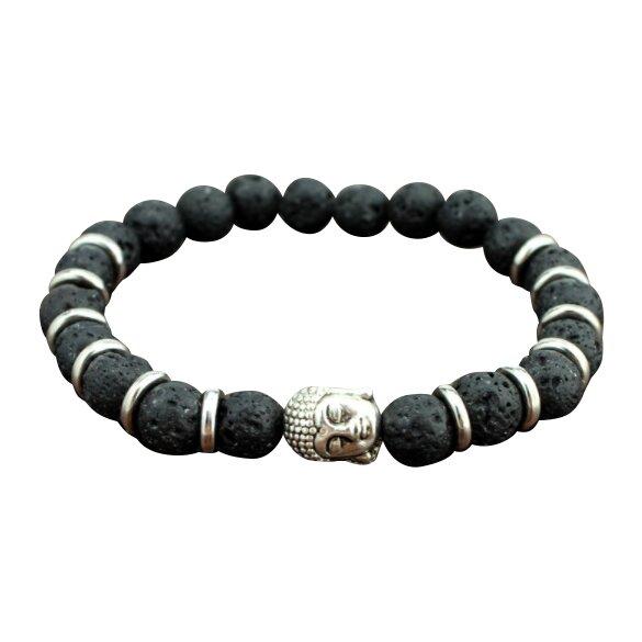 Buddha - lávové kameny