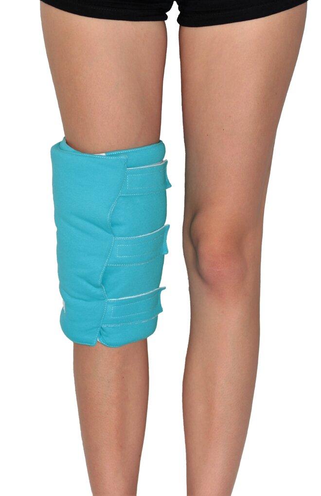 Zábalový pás na nohy, modrá