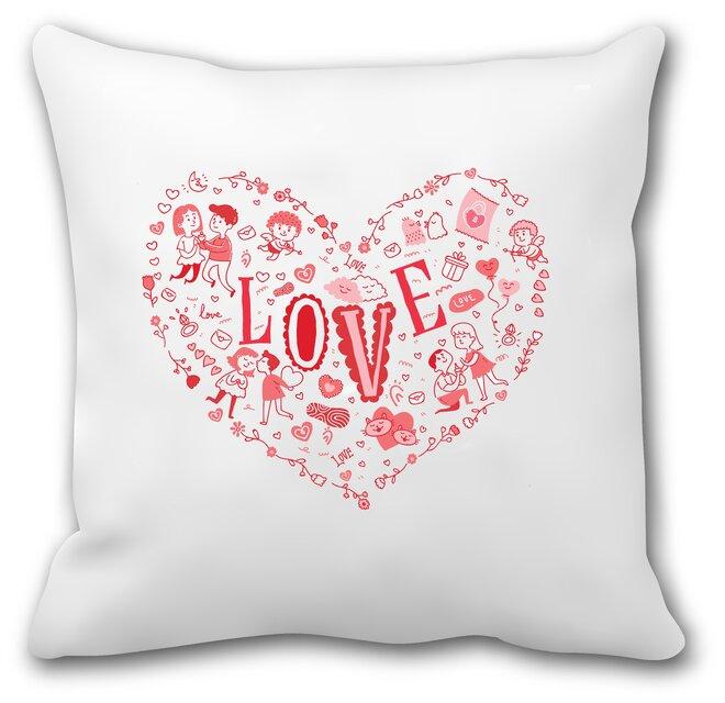 """Zamilovaný polštář """"Love"""""""