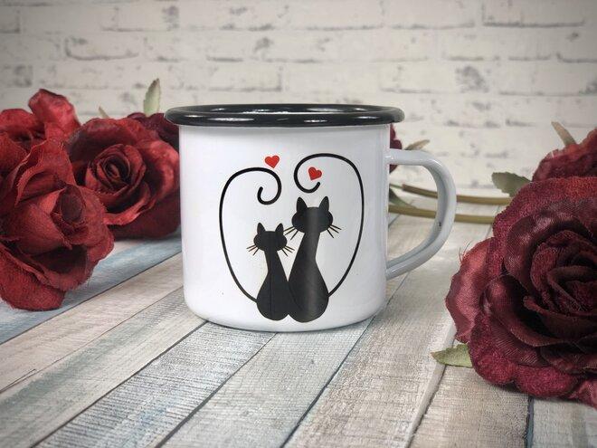 "Zamilovaný plecháček ""Kočky"""