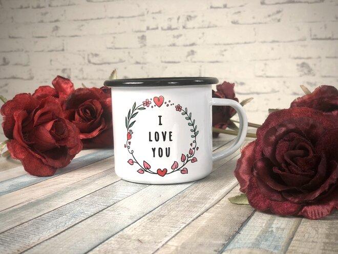 "Zamilovaný plecháček ""I Love You"""