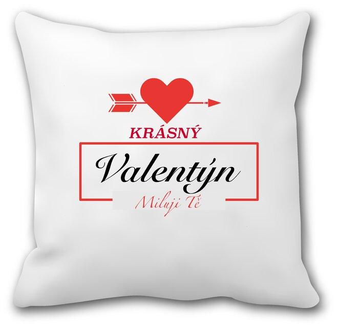 """Zamilovaný polštář """"Krásný Valentýn II"""""""