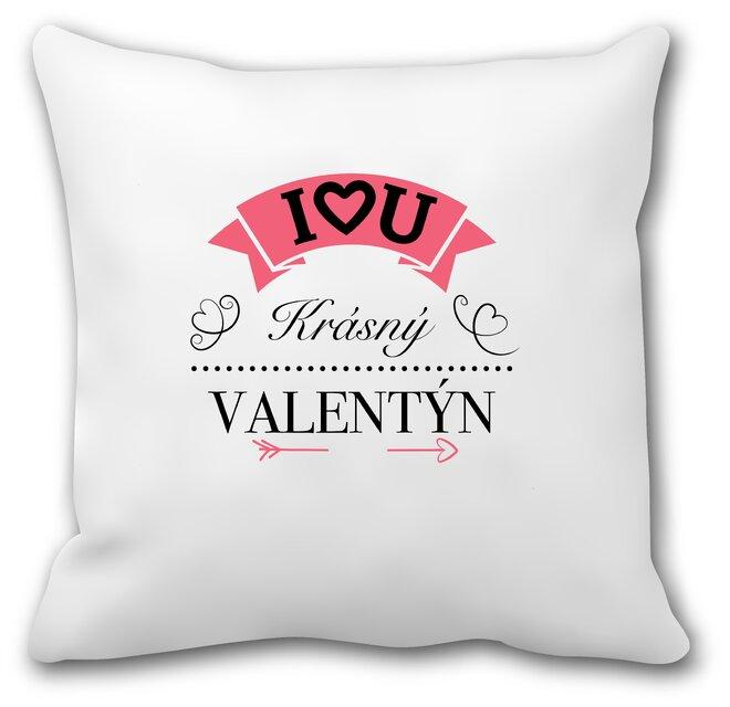 """Zamilovaný polštář """"Krásný Valentýn"""""""